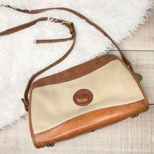 Vintage Dooney + Bourke Crossbody Satchel Handbag